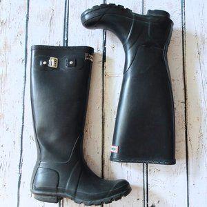 Black Hunter Knee High Tall Boots